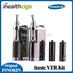 Original Innokin Itaste VTR Electronic cigarette Starter kits LCD Screen 2600 Battery with Iclear 30S Dual Coil atomizer specification:Variable Voltage: 3.0 – 6.0 voltsVariable Wattage: 3.0 – 15.0 WShort Circuit Protection;RMS (root mean square);Reverse Battery Protection Circuit;Resistive Load Detection (Oh  #Vape http://vaper.ga/8y