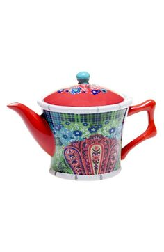POETIC WANDERLUST Tracy Porter® For Poetic Wanderlust® 'Folklore Holiday' Teapot available at #Nordstrom