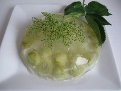Gooseberry elderflower jelly