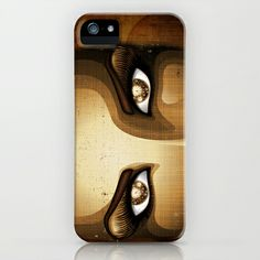 #Steampunk #Girl #Eyes - #iPhone & #iPod #Cases on @Society6