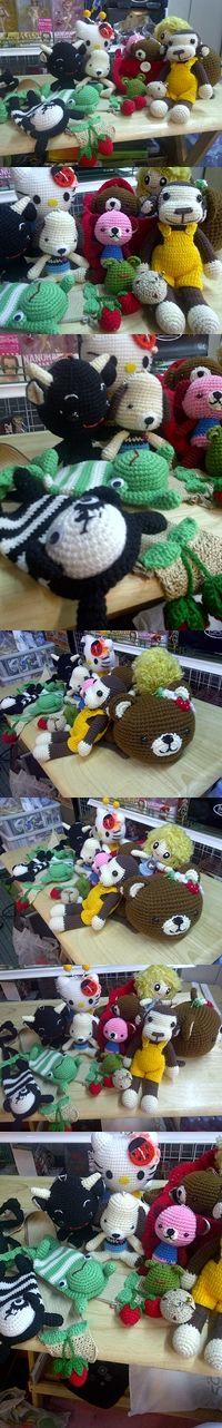 all crochet dolls by me