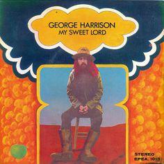"""Джордж Харрисон: """"Мой Сладкий Господь"""". В 1971, Сингапур-только ЕР, который также включает """"что такое жизнь"""", """"как жаль"""" и """"яблоко загривок."""""""