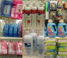 More Dollar Tree Finds! Some of these are just items I haven't seen in a while. Dollar Tree Finds, Body Wash, Shampoo, Bottle, Shower Gel, Flask, Jars