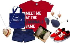 STL Cardinals, created by mego1997 on Polyvore