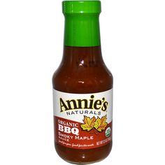 Annie's Naturals, Organic BBQ Smokey Maple Sauce, 12 oz (340 g) - iHerb.com