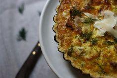 Cauliflower & Creme Fraiche Tart