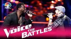 """The Voice 2017 Battle - JChosen vs. Kenny P: """"I Was Made to Love Her"""""""