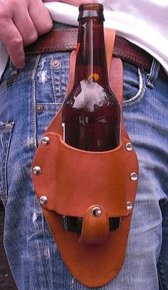 Beer Holster - Awesome Father's Day Gift Idea!