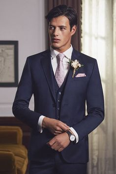Comprising fitted jackets, single-breasted blazers and tailored separates to get you looking dapper in a flash. Groom Colours, Designer Suits For Men, Looking Dapper, Wool Suit, Tie The Knots, Bridal Boutique, Well Dressed, Mens Suits, Ted Baker