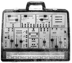 EMS Synthi E (1972) #1970s #vintage #synth #synthesizer #retro