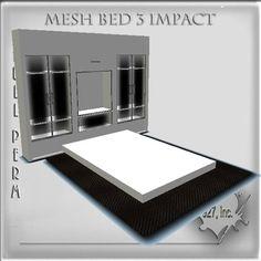 Mesh bed 3 impact full perm