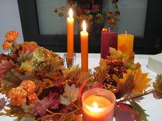 Ambiente de otoño.