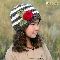 5e3d20e8c97 Crochet Hat PATTERN - Sweet   Simple - crochet pattern for slouchy + beanie  hat boys girls hat (Infant - Adult sizes) - Instant PDF Download