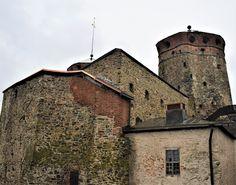 A castle in Savonlinna, Eastern Finland