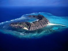 Waier Island in the Murray Island Group, Torres Strait Islands.