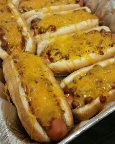 Baked Chili Hot Dogs hit the spot last night!! Thanks HORMEL® for providing the product! #AllstarsHormel #ChiliNation #AllrecipesAllstars #MyAllrecipes