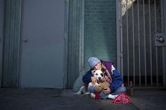 10 Heartwarming Photos Capture The Bond Between Homeless Individuals And Their Pets
