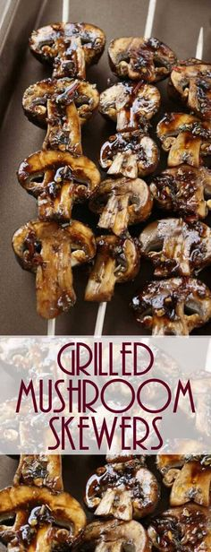 I absolutely love these Grilled Mushroom Skewers in every way! I could eat them … Sponsored Sponsored I absolutely love these Grilled Mushroom Skewers in every way! I could eat them every day, PLUS they taste so good and are… Continue Reading → Grilled Mushrooms, Stuffed Mushrooms, Mushrooms On The Grill, Healthy Recipes, Cooking Recipes, Cooking Dishes, Grill Recipes, Skewer Recipes, Grilled Vegetables
