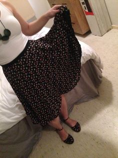 Full circle skirt - pattern from Miss Mary Sews