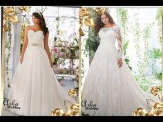 Νυφικα Φορεματα φια Ευσωμες One Shoulder Wedding Dress, Wedding Dresses, Fashion, Bride Dresses, Moda, Bridal Gowns, Fashion Styles, Wedding Dressses