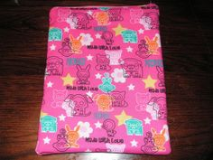 Skelanimals handmade zipper fabric iPad 2 by alwaysamazingdesigns, $14.99