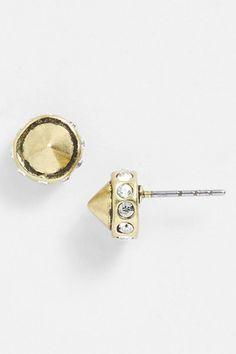 Earth Eclectic Cone Stud Earrings