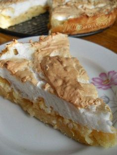 Яблочный пирог с мягким безе | Школа шеф-повара
