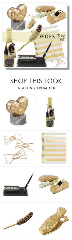 """Work BFF gifts"" by adduncan ❤ liked on Polyvore featuring Kelly Wearstler, Kate Spade, Sugar Paper, giftguide and workbff"