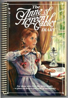 Anne of Green Gables Spiral Bound Diary - One Entry Used