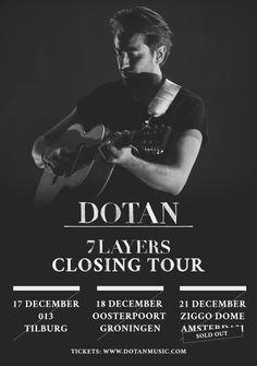 Dotan 7LAYERS closing tour poster