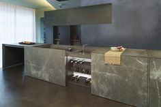Corinthian stone freestanding kitchen D90   Natural stone kitchen ...