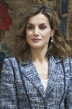 """Queen Letizia of Spain attends the """"Reina Letizia 2015"""" awards ceremony at El Pardo Palace on July 8, 2016 in Madrid, Spain."""