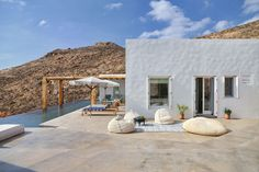 A Pair of Summer Houses on Syros, Greece by Block722 Architects | Yatzer