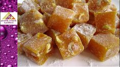 Turkish delight with double delight Turkish delight Authentic Turkish delight recipe Turkish delight with hazelnut Kebab Recipes, Yogurt Recipes, Appetizer Recipes, Baking Recipes, Cookie Recipes, Turkish Recipes, Greek Recipes, Lokum Recipe, Flan