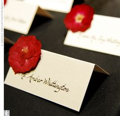 Placecards.