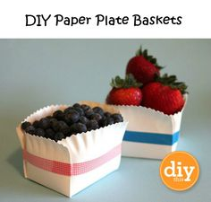 DIY Paper Plate Basket Tutorial with washi tape Paper Plate Basket, Paper Plates, Carton Diy, Papier Diy, Washi Tape Diy, Masking Tape, Washi Tapes, Duct Tape, Cookie Packaging