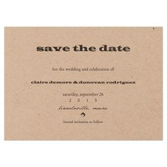 save the date, are they really necessary?