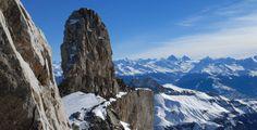 Panorama Quille ©Christophe Racat - Glacier 3000, Switzerland