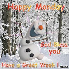 Happy Monday Olaf Quote