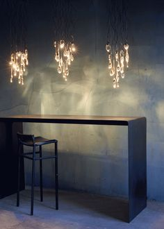 Ochre 'Seed' pendant - option for dining room
