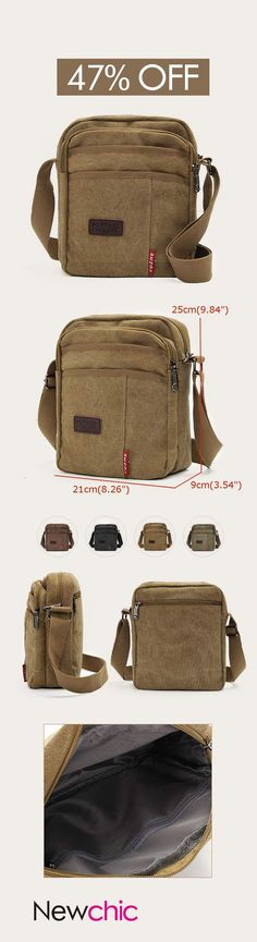 2b45a4ff435d US 11.31+Free shipping Men Canvas Leisure Shoulder Bags Sport Outdoor  Travel Crossbody Bag