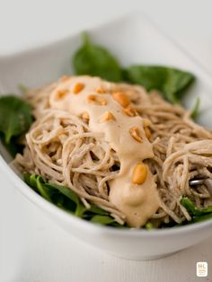 Creamy-Amazing Peanut Soba Noodles in 20 Minutes!