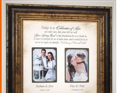 Check out Wedding Gift Parents Personalized Wedding Gift Parents Bride Gift to Parents Custom Picture Frame Groom Gift Bride Gift Marriage Gift, on photoframeoriginals Mother Of The Groom Gifts, Wedding Gifts For Parents, Wedding Thank You Gifts, Mother In Law Gifts, Wedding Gifts For Groom, Father Of The Bride, Bride Gifts, Gifts For Mom, Gift Wedding