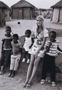 Isabel Lucas in Africa. One of my favourite places in the world