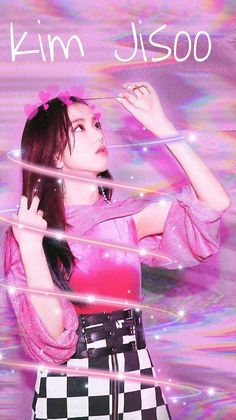 Lisa Blackpink Wallpaper, Kawaii Wallpaper, Blackpink Jisoo, Yg Entertainment, Kim Jennie, Kpop Posters, Blackpink Photos, Fan Art, Kpop Fanart