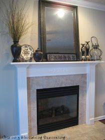 Cheap & Easy Fireplace Makeover