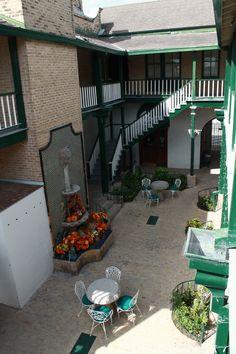The Courtyard at La Borde House