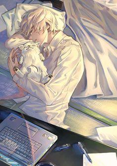 I know it's not around, but I like to do it – Anime Ideas Manga Girl, Art Manga, Art Anime, Anime Kunst, Manga Anime, Anime Boys, Cool Anime Guys, Handsome Anime Guys, Cute Anime Boy