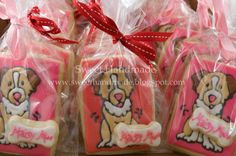 Sweet Handmade Cookies - dog cookies, australian shepherd cookies
