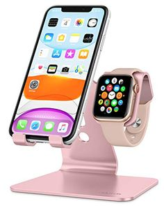 #OMOTON Desktop Stand Holder for #iPhone and #AppleWatch